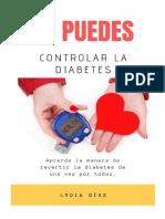 Tú Puedes Controlar La Diabetes