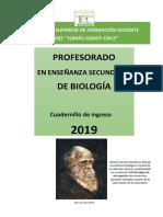 Cuadernillo de Biología 2019