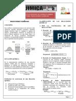 Química -reacción