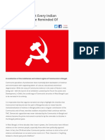 Indian Communism and Global Communism