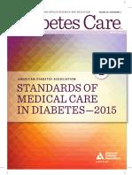 Guía ADA de Diabetes 2015