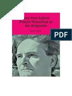 Fara tine Iubire- Poezii filozofice si de dragoste (Romanian edition)