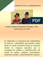 DEPRESIÓN EN LA NIÑEZ Y ADOLESCENCIA.ppt