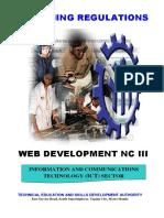 TR - Web Development NC III
