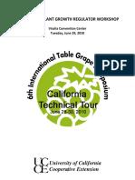 Table Grape PGR Workshop