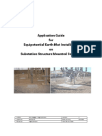 Guide for Equipotential Copper Earth Mat Installations Central Networks