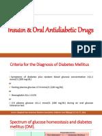 Insulin and ADA