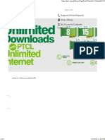 Unlimited Internet Packages PTCL