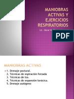 Maniobras Activas y Ejercicios Respiratorios