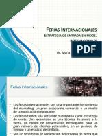 Sesión 12 - Ferias Internacionales