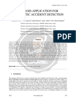 Android Application for Automatic Accident Detection Ijariie4121