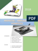 Estructura Del Proyecto de Emprendimiento 2018