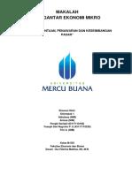 Makalah Teori Permintaan, Penawaran dan Keseimbangan Pasar.pdf
