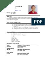 Drino Resume