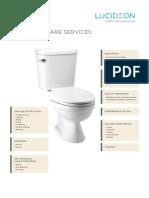 Sanitaryware Services Portfolio