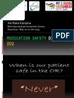 Medication Safety Di OK Dan ICU