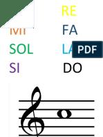 Juego De Notas Musicales