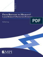 From Refugee to Migrants