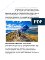 Human Resource - NZ Policies