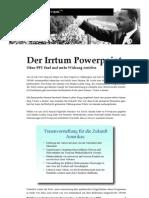 Martin Luther King - Irrtum Power Point