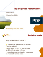 Measuring Logistics Performance