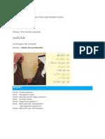 Terjemahan Bayna Yadaik Docx
