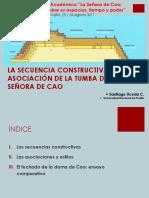 Santiafo Uceda La Secuencia Constructiva y La Asociacion Del a Tumba de La Senora de Cao