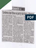 Abante, Aug. 15, 2019, Cardema hao-shao sa party-list bloc-Romero.pdf