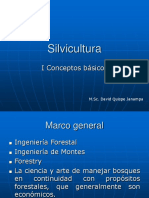 1. Silvicultura Conceptos Basicos