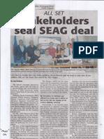 Daily Tribune, Aug. 15, 2019, Stakeholdera seal SEAG deal.pdf