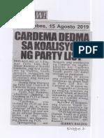 Hataw, Aug. 15, 2019, Cardema dedma sa koalisyon ng party list.pdf