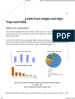 Falls (including Falls from height and Slips, Trips and Falls)