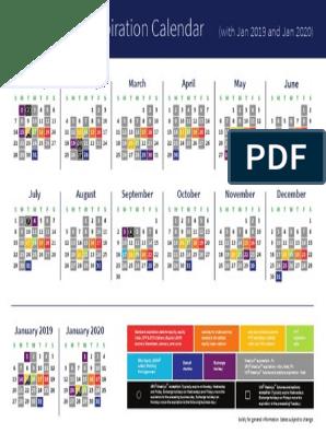 CBoe Options Expiration Calendar 2019 | Vix | Economic Indicators