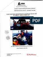 Cuarto Monitoreo Mar Chimbote - Bahía El Ferrol 2018