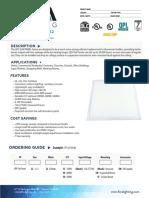 FORA+LED+Panel+2x2++Spec+Sheet