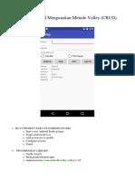 Android Mysql Mengunakan Metode Volley