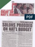 Peoples Journal, Aug. 15, 2019, Romualdez presses on-time okay of Nat'l Budget.pdf