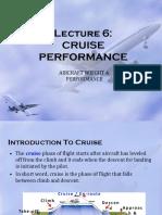 Cruise Performance