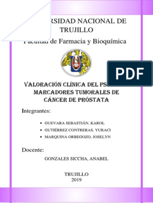 deteccion oportuna de cancer de prostata pdf