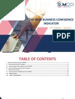 Mcci Business confidence indicator Second Quarter 2019