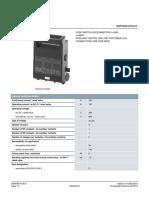 Siemens 3NP5060 0CA10 Datasheet