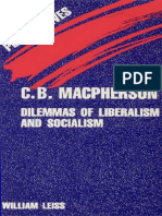William Leiss - C.B.Macpherson_ Dilemmas of Liberalism and Socialism-New World Perspectives (1989).pdf