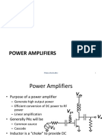 Power Amplifiers and Switching Amplifiers