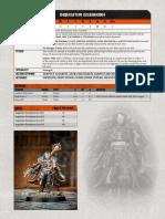 Inquisitor eisenhorn kill team