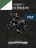 Australian kill team championships pack 2019