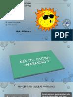 Pemanasan Global Kelompok 4 Fisika
