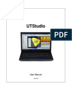 UTStudio3 User Guide 2013-07-30