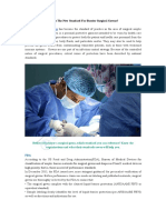 What is the New Standard for Barrier Surgical Gowns?