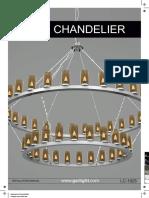 Manuale Di Istalazione CHANDELIER