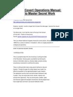How to master secret work